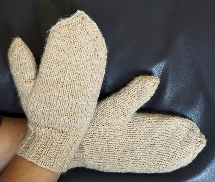 RippingYarns,   Chips 'easy as' Mittens